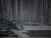 «Matin d'hiver». Eric Facchinetti