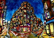 15-Urbano. «Cruce de Calles».. Carmen Luna