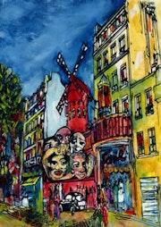 16-Urbano. «Molins Rouge».. Carmen Luna