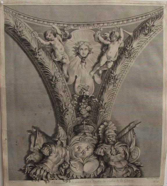 Johan Martin. Preisler (1715-1794), d'après. Le Brun puis. Massé : Versailles. Johan Martin Preisler (1715-1794), d'après Le Brun & J. B. Massé. Historien d'art, Archéologue; Chercheur Free-L.