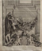 Pierre Aveline (1656-1722) & Nicolas Tardieu (1674-1749) d'après Le brun & Massé. Historien d'art, Archéologue; Chercheur Free-L.