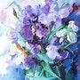 The Iris Vase.