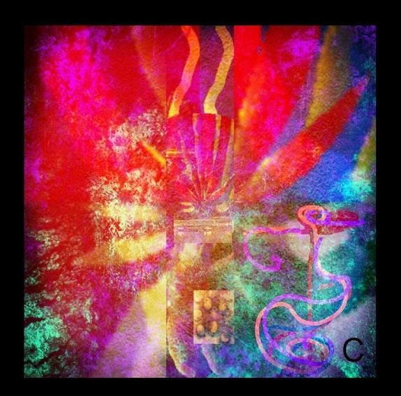 Colourfull scoprendo mondi diversi. Cinziart Alizarinacolores