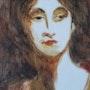 Una lady ottocentesca. Alizarinacolores