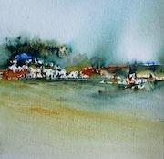 Petit paysage (confinement 15). Marief