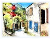 Village provençal. Marie Josée Minondo