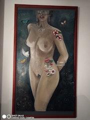 Le bonheur d etre nue. Monique Benoit
