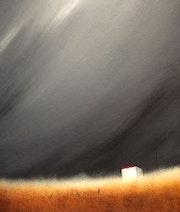 """Storm Brewing"" 26x33cm. Reda Ishak"