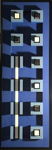 Blue Bauhaus. Philippe Garnier De La Baudinière
