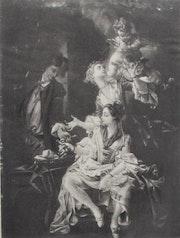 Honoré Fragonard (? ) (1732-1806) : Le marchand de godemichés. Érotique 5/5.. Historien d'art, Archéologue; Chercheur Free-L.