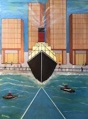 The Ship Will Sail Again. Paul Cullingham