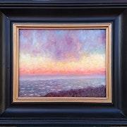 Sunset on Folkestone. F Aouni