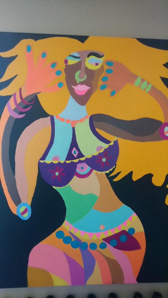 Danseuse.  Claudine Leroy