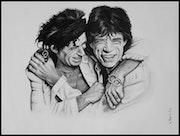 Mike Jagger /Keith Richard.