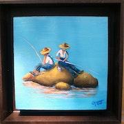 Los Pescadores. Juan Guerrero