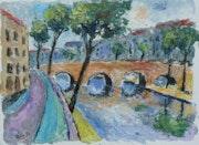 Le quai d'anjou (paris). Jean-Claude Robin
