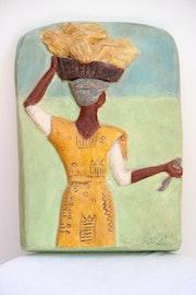 Tableau femme Africaine.