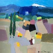 Le mont Ventoux «le Géant de Provence». René Sausse