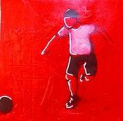 202001 Ok Boy/fond rouge.
