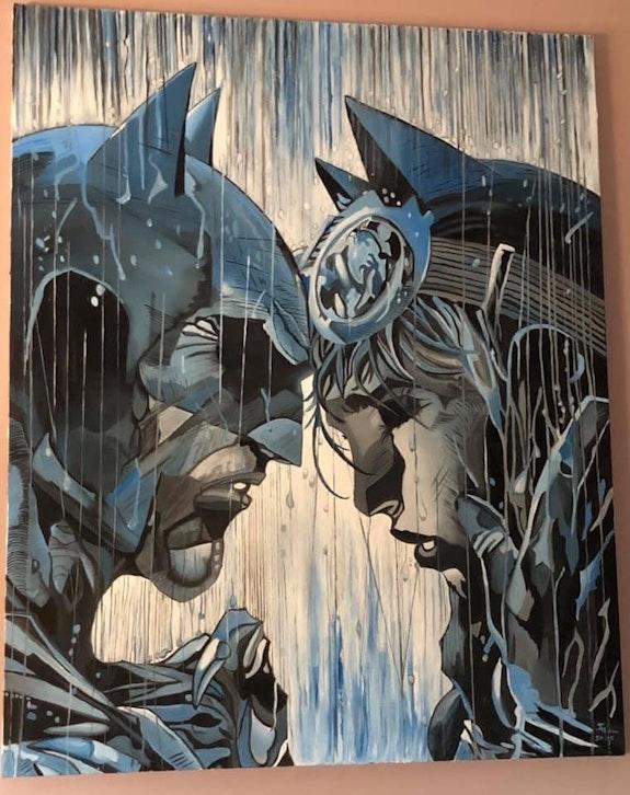 Batman. D'Après Jim Lee Art'Ig