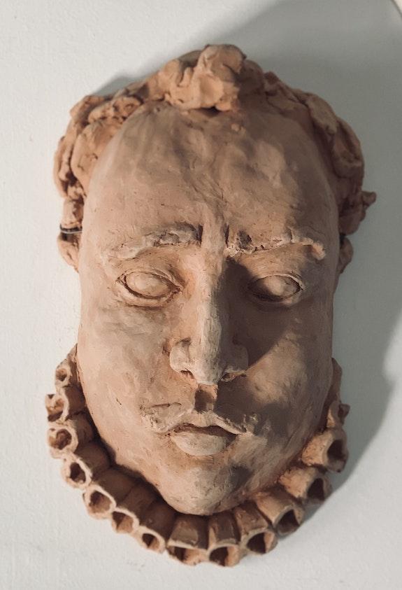 Clay mask. Polina Adamov Polina Adamov