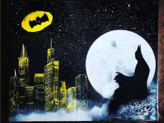 Batman, l'ange gardien de Gotham. Louahche Abdeloualid Monster Art