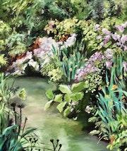 Le ruisseau fleuri. Dominique Mansour