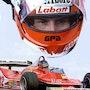 Dessin Gilles Villeneuve f1.