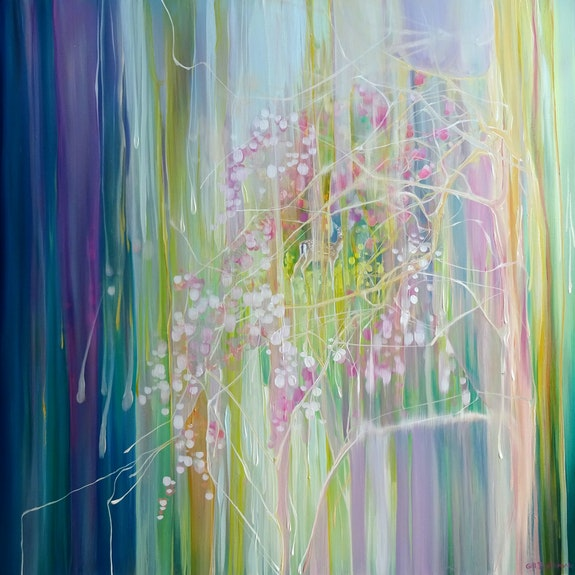 Glimpse of April.  Gill Bustamante - Artist