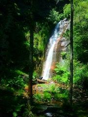 Cascada en Sierra del Caurel, Lugo.
