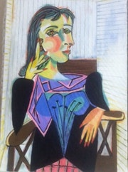 Portrait de Dora Maar. Chantal Charroux