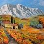 La Sainte Victoire. Andre Blanc