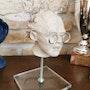 Doc Emmett sculpture argile sur socle. Patricia Vivier Robert » Pat V »