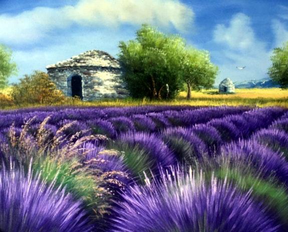 Bories de Provence. Gilbert De St Amans Gilbert De St Amans