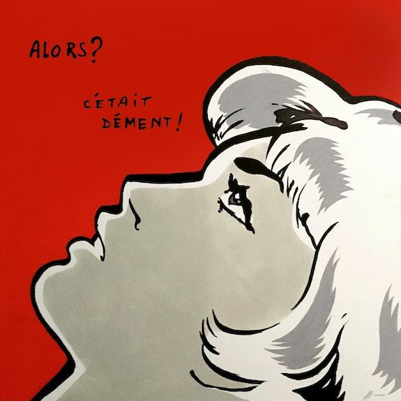 Leslie. Jean-Sebastien Plaut La Little Popart Gallery