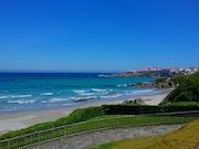 Playa en Caion, La Coruña. M. Pilar