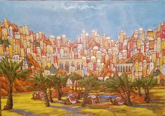 Oasis.  Sandrine Millet