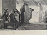 J. Antonin Delzers (1873-1943), d'après A. De Richemont : La Charité de St-Yves.. Historien d'art, Archéologue; Chercheur Free-L.