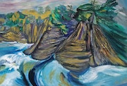 Cape Scott Sea Stacks. Karen Colville