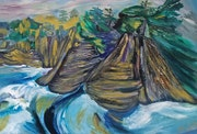 Cape Scott Sea Stacks.