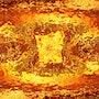 Fire cube. I-Art & Ficelles