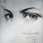 Eyes study. Luis Covarrubias