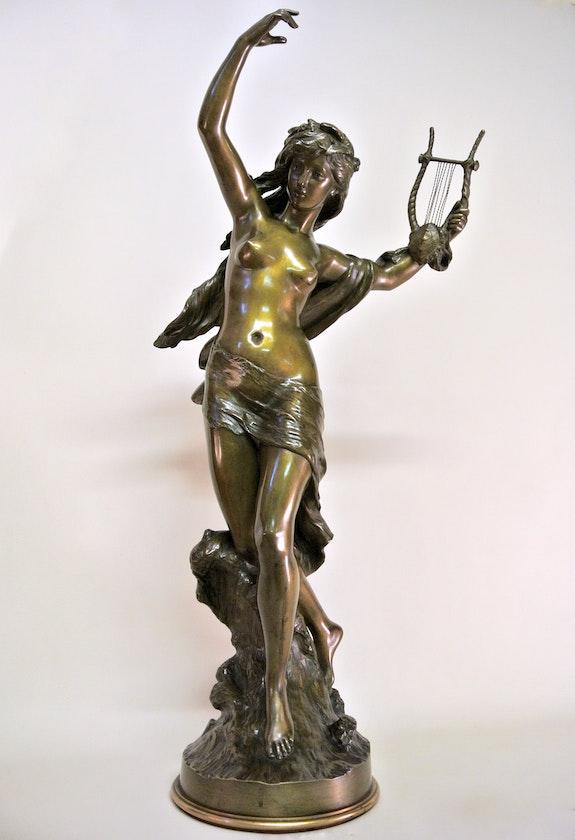 «Danseuse à la lyre». Mathurin Moreau (1822/1912) Marc Menzoyan Antiquités