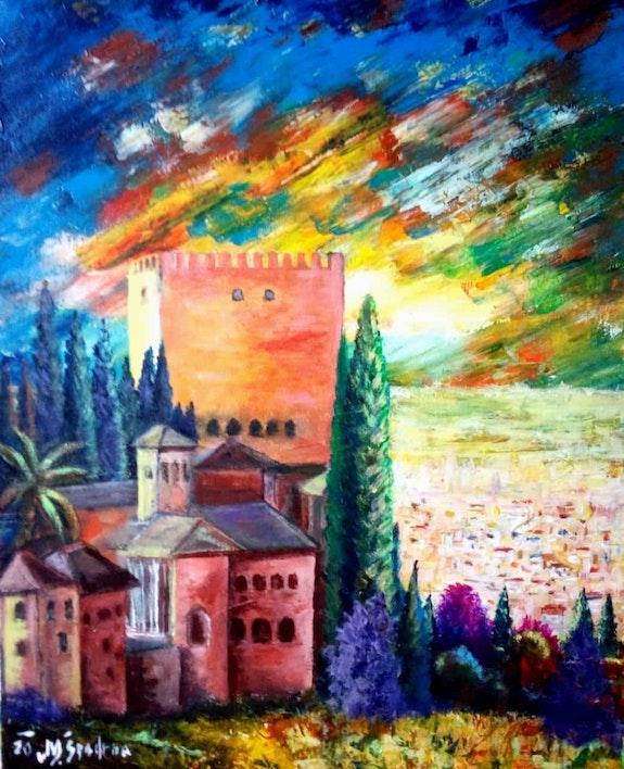 Alhambra (Granada. Espana). Miroslav Spadrna Pintorcheco