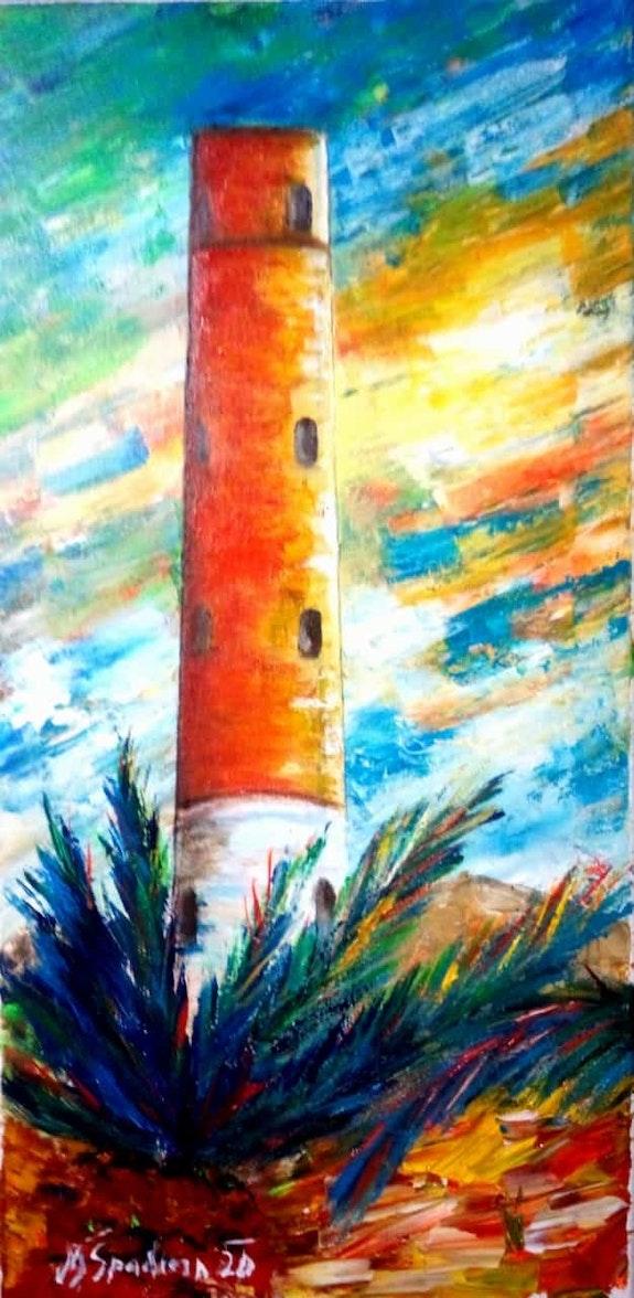 La torre de los Perdigones Adra. Miroslav Spadrna Pintorcheco