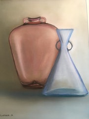 Les vases de Murano. Maguy Mathieu