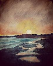 Meditarranean sunset. Roser Jb