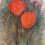 Tulips and lavender. Ann Cowley