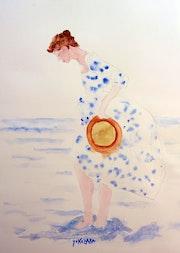La robe bleue. Yokozaza