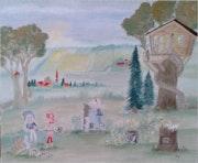 La cabane dans l'arbre…. Ody